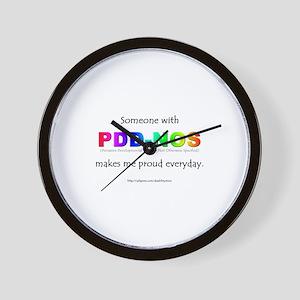 PDD-NOS Pride Wall Clock