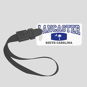 lancaster south carolina palmett Small Luggage Tag