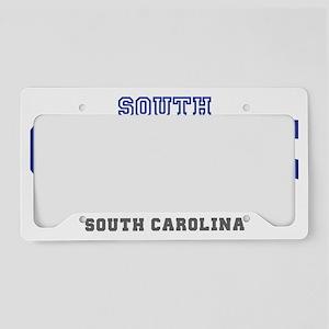 south congaree south carolina License Plate Holder