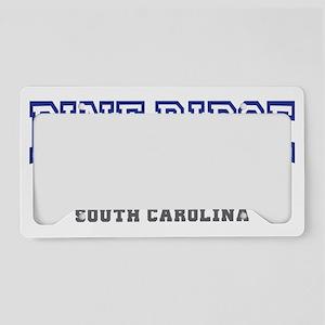 pine ridge south carolina pal License Plate Holder