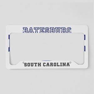 batesburg leesville south car License Plate Holder