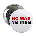 "No War on Iran 2.25"" Button (10 pack)"