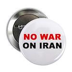 No War on Iran Button