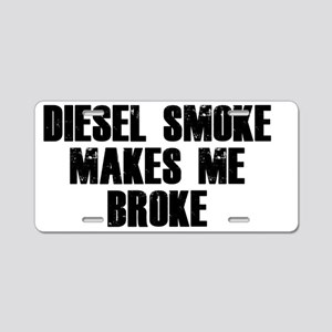diesel Aluminum License Plate