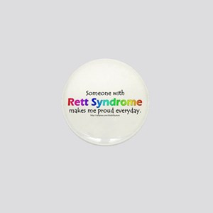 Rett Syndrome Pride Mini Button