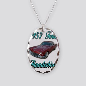 1957 Thunderbird Necklace Oval Charm