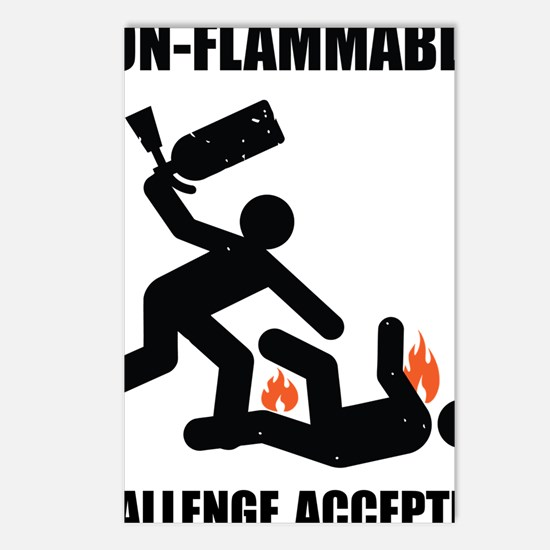 non flammable Postcards (Package of 8)