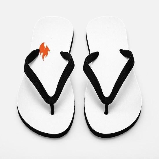 non flammable_bl Flip Flops