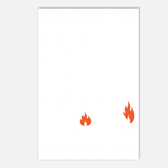 non flammable_bl Postcards (Package of 8)