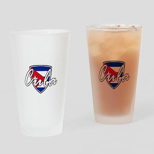 cuba3 Drinking Glass