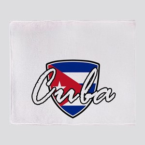 cuba3 Throw Blanket