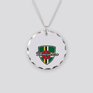 dominica2 Necklace Circle Charm