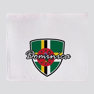dominica2 Throw Blanket