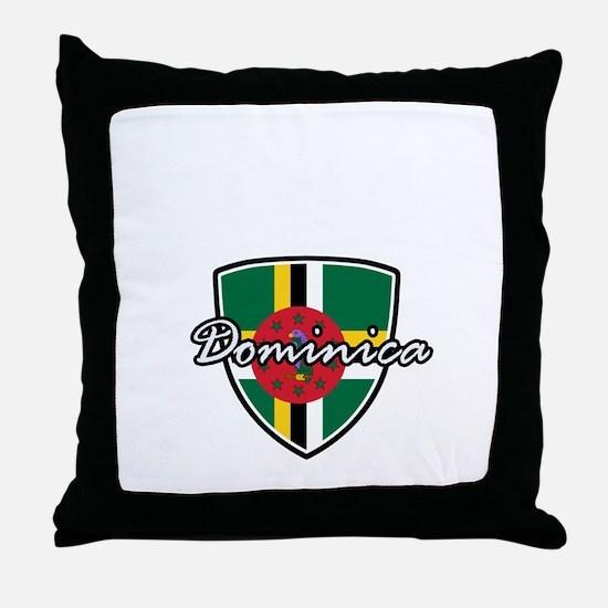 dominica2 Throw Pillow