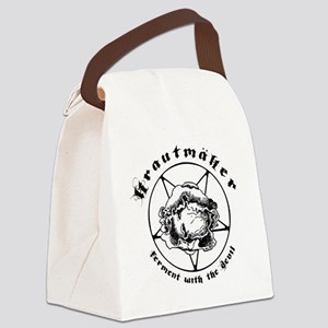 Krautmaker White Canvas Lunch Bag