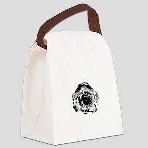 Krautmaker black Canvas Lunch Bag