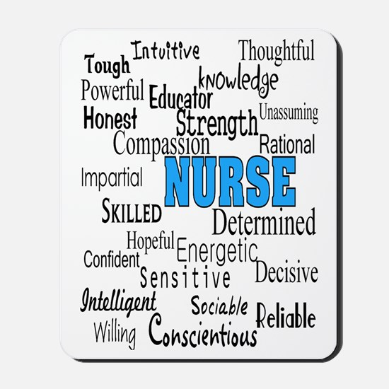 FF NURSE Blue Mousepad