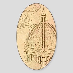 Firenze Sticker (Oval)