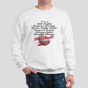 Baseball_Mom Sweatshirt