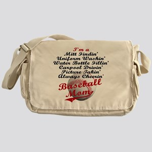Baseball_Mom Messenger Bag
