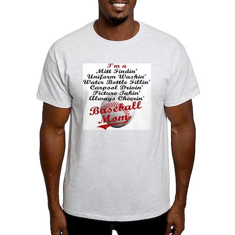 Baseball_Mom Light T-Shirt