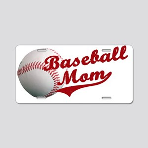 baseball_mom Aluminum License Plate