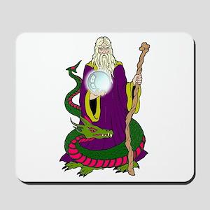 Wizard & Dragon Mousepad