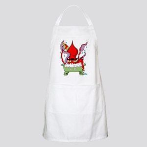 Red Giant Squid BBQ Apron