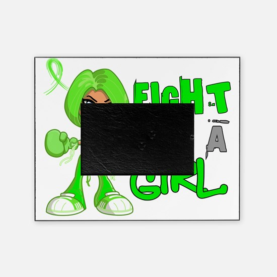 Fight Like a Girl Non-Hodgkins Lymph Picture Frame