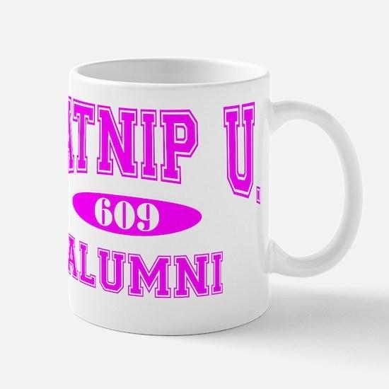 Catnip University Alumni 609 Mug