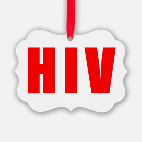 HIVdark Ornament