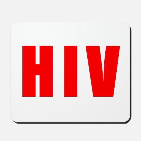 HIVdark Mousepad