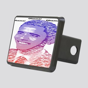 Obama14.7x9.67 Painted Nam Rectangular Hitch Cover