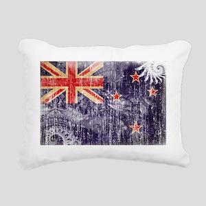 New Zealand textured Cra Rectangular Canvas Pillow