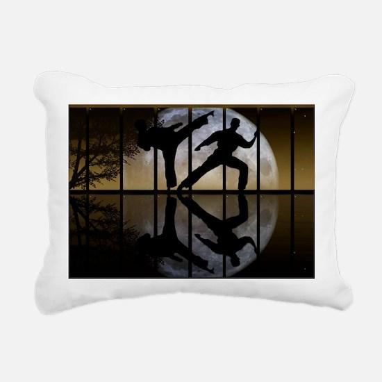 PANELS5 Rectangular Canvas Pillow