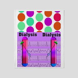 ff dialysis 2 Throw Blanket