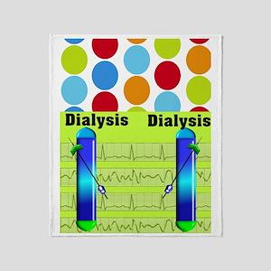 FF dialysis 1 Throw Blanket