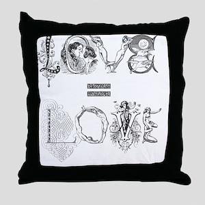 LoveT10x10 Throw Pillow