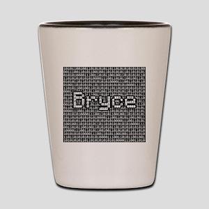 Bryce, Binary Code Shot Glass