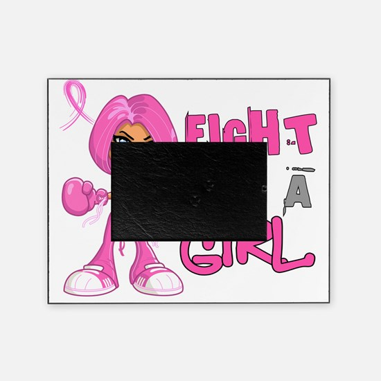 - Breast Cancer FLAG 42.8 Picture Frame