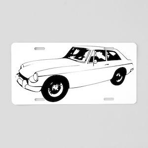 MGB GT Aluminum License Plate