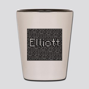 Elliott, Binary Code Shot Glass