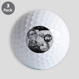 We Can Do It Kettlebells Golf Balls