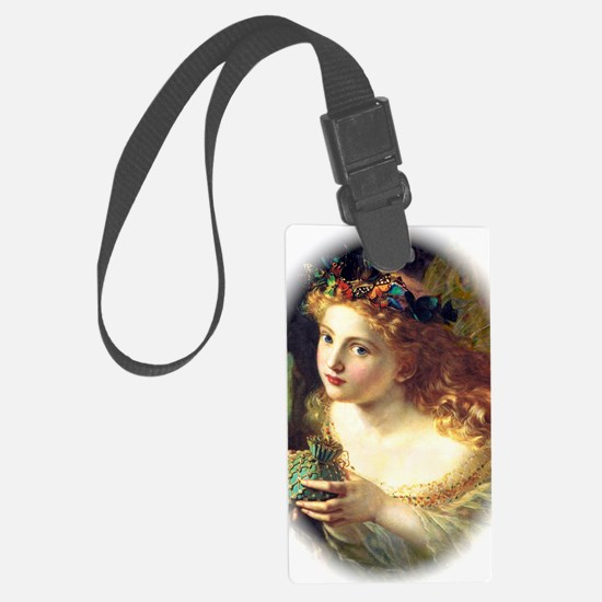 Butterfly fairy Luggage Tag