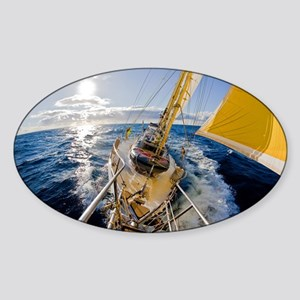 Sailing Sticker (Oval)