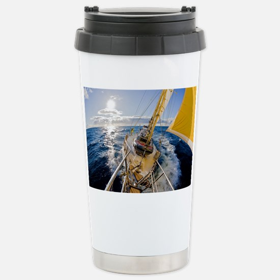 Sailing Stainless Steel Travel Mug