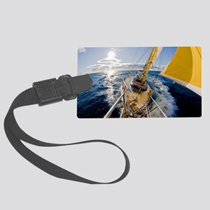 Sailing Large Luggage Tag
