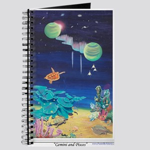 Gemini and Pisces shirt Journal