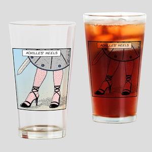 Achilles heels Drinking Glass