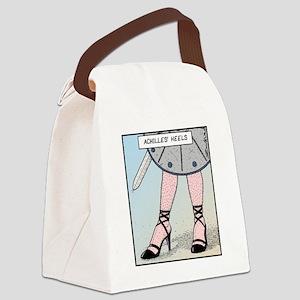 Achilles heels Canvas Lunch Bag